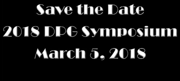 2018 DPG Symposium feature image
